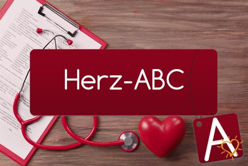 Herz-ABC Buchstabe A