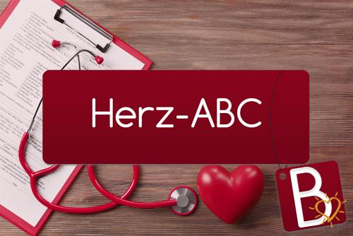 Herz-ABC Buchstabe B