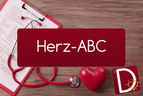 Herz-ABC Buchstabe D