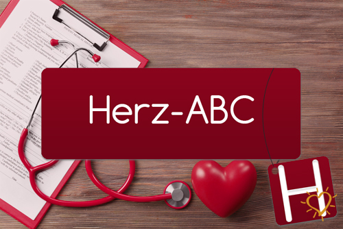 Herz-ABC Buchstabe H