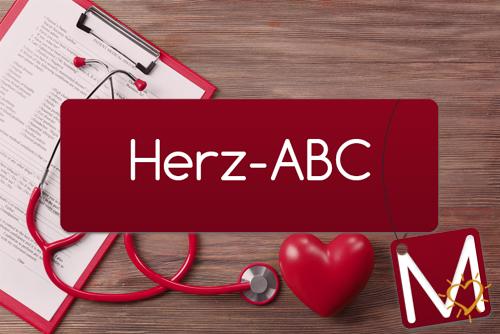 Herz-ABC Buchstabe M
