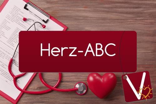 Herz-ABC Buchstabe V