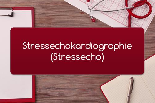 Stressechokardiographie