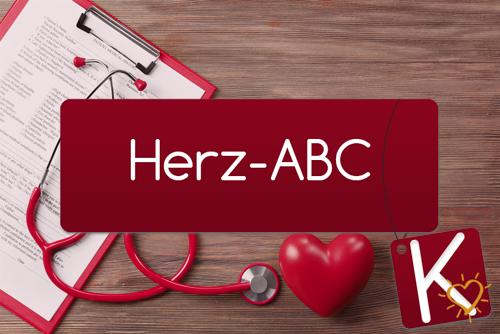 Herz-ABC Buchstabe K