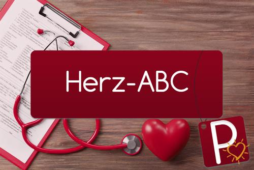 Herz-ABC Buchstabe P