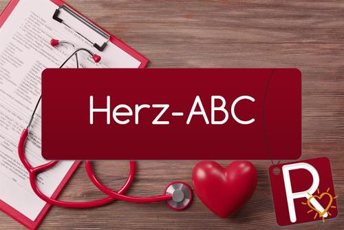 Herz-ABC Buchstabe R