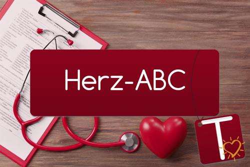 Herz-ABC Buchstabe T