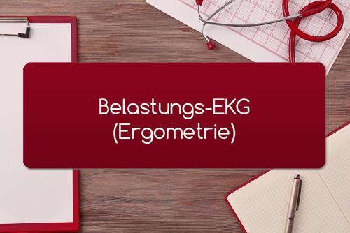 Belastungs-EKG Ergometrie